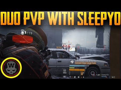 DUO PVP with Sleepy0 (The Division 1.8)