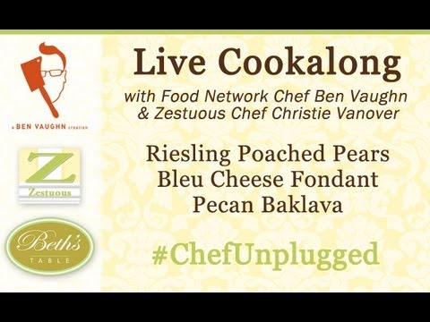 #ChefUnplugged Cookalong with Chef Ben Vaughn and Zestuous