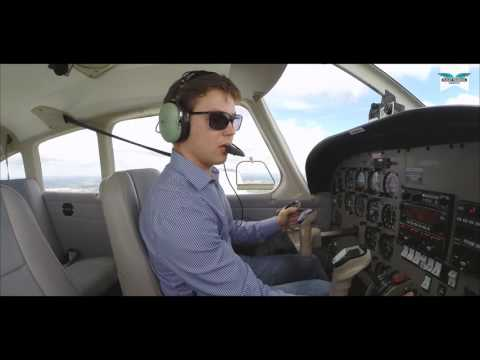 Alexey's First Solo Flight at Flight Training London, Elstree Aerodrome