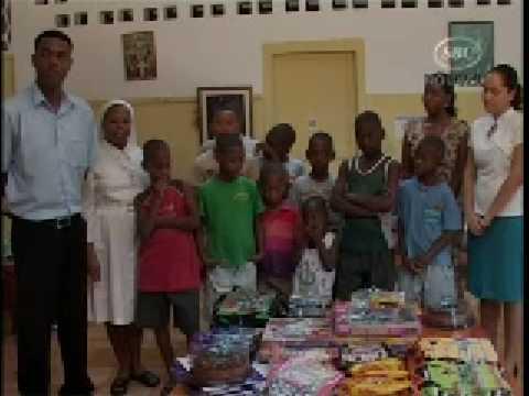 SBC Seychelles: Donation Orphanage 22.12.08
