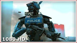 Презентация новых полицейских роботов | Робот по имени Чаппи (2015)