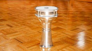 MEINL Percussion - Aluminium Darbuka, Plain - HE-102