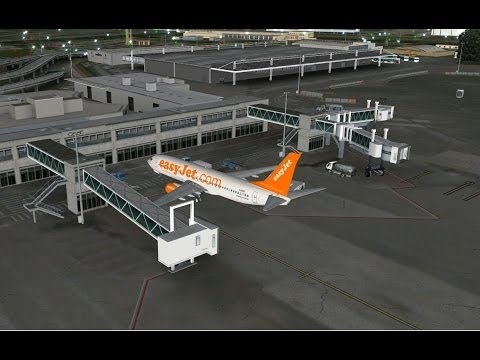 """Microsoft Flight Simulator X"" Nice to Basel in Eyefinity/Surround/~4k+TrackIR"