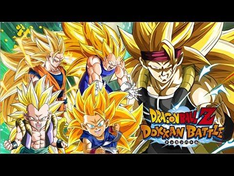 SSJ3 BARDOCK & SSJ3 Category Team Showcase! Dragon Ball Z Dokkan Battle