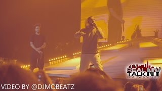 "Drake Performs A New Verse & ""Back To Back"" At J. Cole"