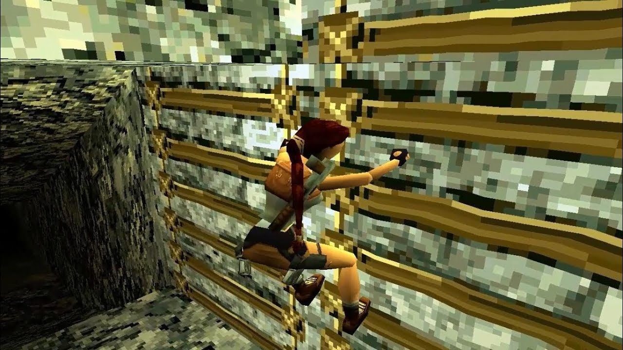 Tomb Raider 2 - Intro & Level 1 - The Great Wall (PlayStation 1)