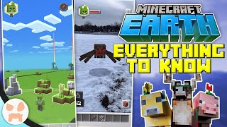 Minecraft Earth - EVERYTHING TO KNOW! | Basics, Tips, & Tricks