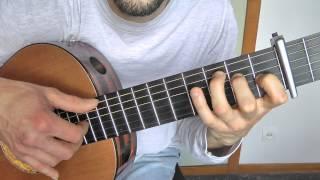 Tuto guitare - Georges BRASSENS : Chanson pour l