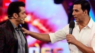 Salman Khan comedy show | bigg boss 13 winer || Salman Khan and Akshay Kumar Funny moment Season 13