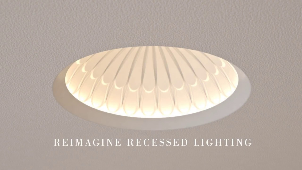 element reflections decorative recessed led downlights