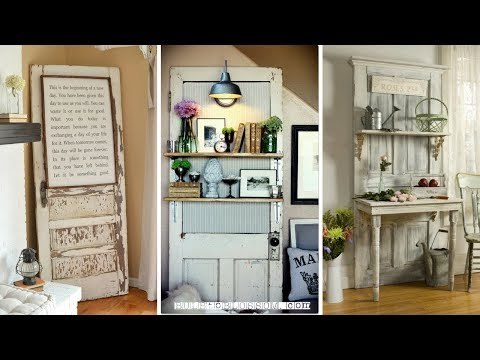 🚪 5 DIY Projects Repurposing Old Doors With Simplest Work 🚪