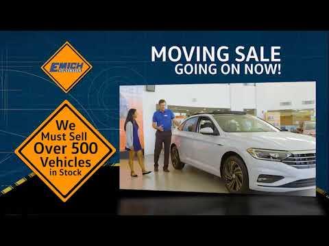 Emich VW Moving Sale - December 2018