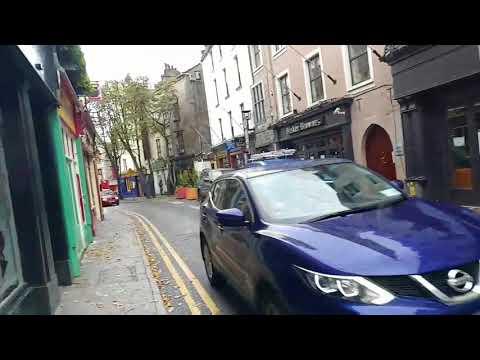 Huragan Ophelia w Galway.