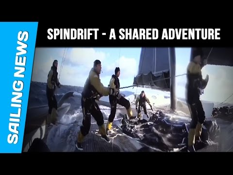 Sprindrift - Jules Verne Trophy 2015 2016 - A shared adventure