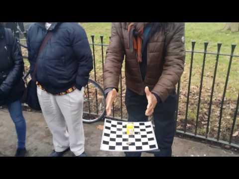 Man Of God - Chess - Speakers Corner Hyde Park London 18-12-16. (2)