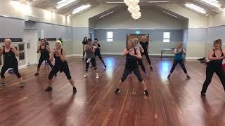 Flow Dance Fitness Motueka- Warm Up - Club on the Smash