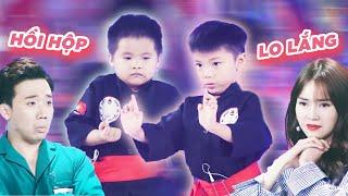 Lan Ngọc, Trấn Thành LO SỢ trước màn DÙNG ĐẦU CHẶT GẠCH của 2 cậu bé 6 tuổi | Biệt Tài Tí Hon