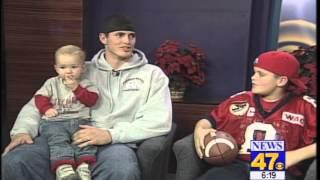 2001: Derek Carr's first TV interview