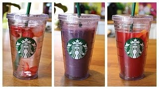 DIY Fresh & Healthy Drinks│SUMMER Thumbnail