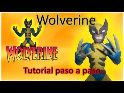 Como hacer a Wolverine de plastilina - How To Make Wolverine plasticine Tutorial