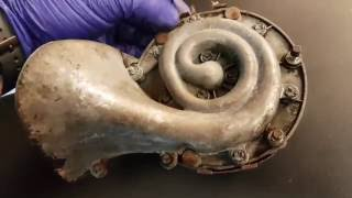 1964 1/2 - 1965 Ford Mustang Classic Horn Removal and Repair