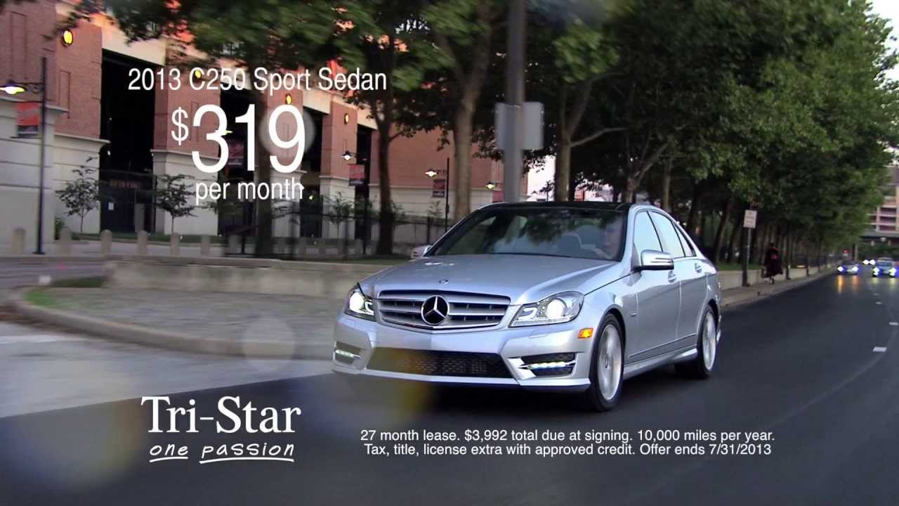 2017 C250 Sport Sedan And E350 Mercedes Benz St Louis Tristar