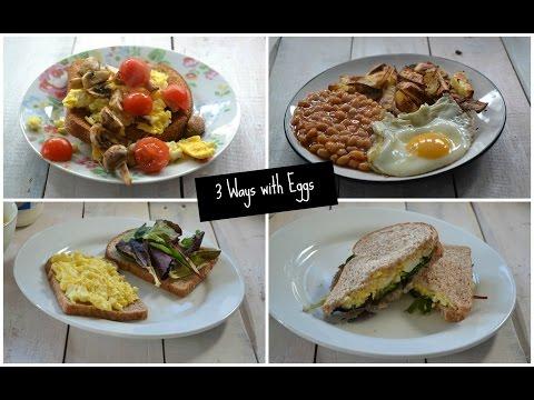 3 Ways With British Lion Eggs