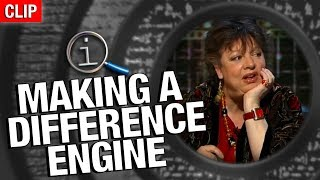 QI - How Would You Make A Difference Engine?