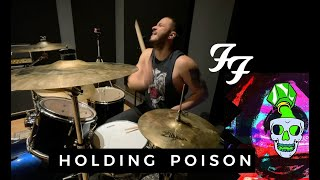 Foo Fighters - Holding Poison (Drum Cover by Tico Nerval)