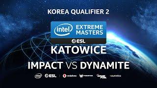 Impact (Z) vs DynaMite (T) - IEM Katowice 2020 Korea Qualifier 2