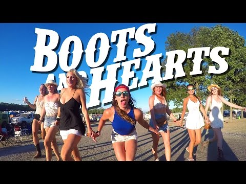Boots And Hearts Country Music Festival! (GoPro Canada)