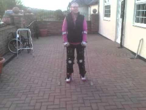 Walking With Leg Braces/Callipers T12- L1 Spinal Cord Injury