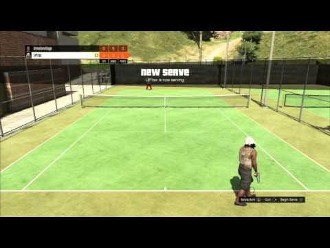 GTA 5 Online + Tennis Richman Court @drewloevillage