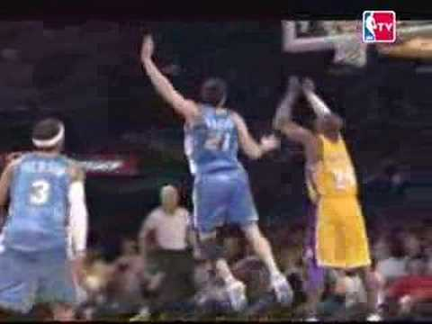 Lakers - Nuggets: Kobe Monster 49 points Crush Nuggets[HOT!]