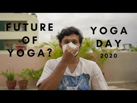 Yoga day 2020! A different way to celebrate!