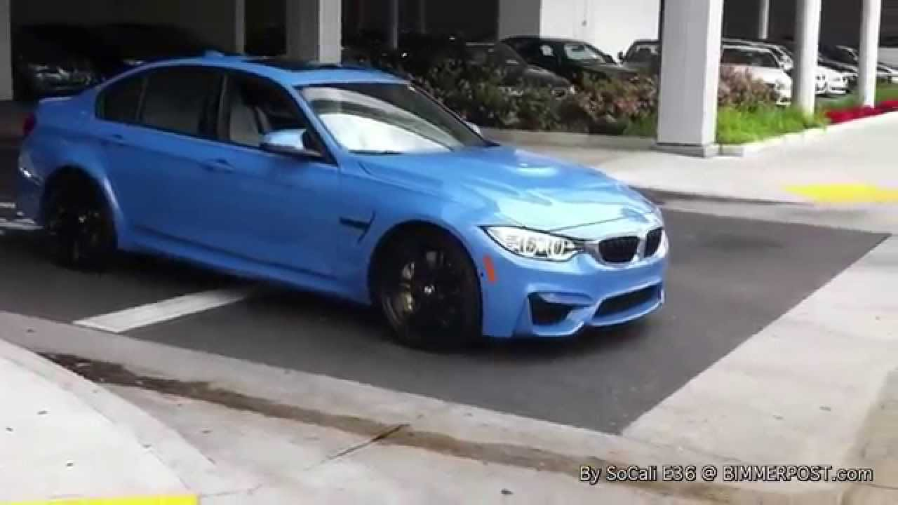 2015 BMW F80 M3 Accelerating Sounds  YouTube