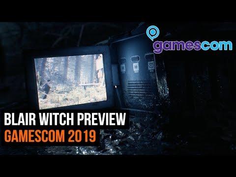 Blair Witch preview - GamesCom 2019