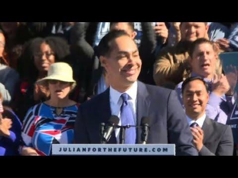 Julian Castro annonce sa candidature pour la présidentielle