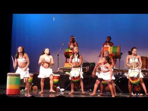 African Women Drum and Dance: Nimbaya