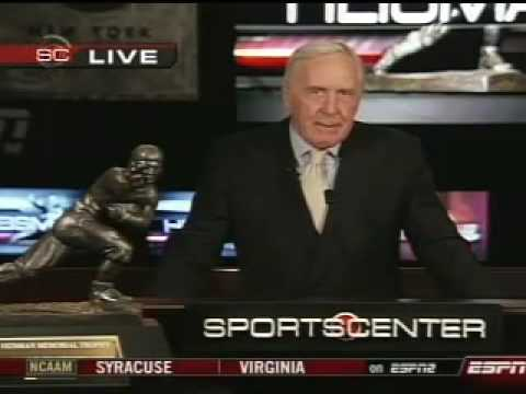 2007 Heisman Trophy Finalists Annoucement