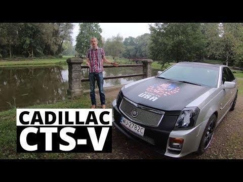 Cadillac CTS-V - amerykańskie M5 (niechciane w Europie)