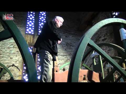 Lew's News Extra - A Tour of St Peter's Church Tower in Tiverton