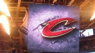 Cleveland Cavaliers intro 2016-2017