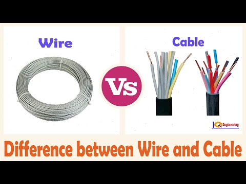 Wire vs cable ¦ Difference between Wire and Cable ¦ Drive by Wire vs Drive by Cable ¦