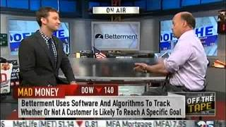 CNBC Mad Money features Betterment