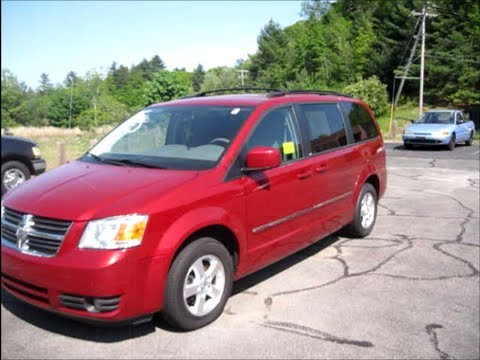 2008 Dodge Caravan Sxt Start Up Engine Review Youtube