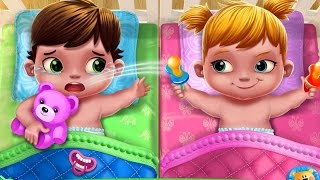 Play With Baby Twins & Help Daddy Clean Up - Fun & Educational Game For Kids And Families