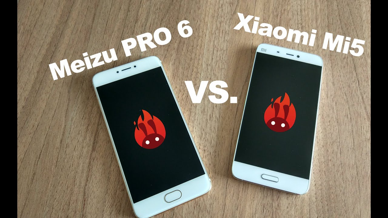 Meizu Pro 6 und Xiaomi Mi5 - Vergleich