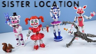 Five Nights At Freddy S FNAF Sister Location Action Figures Funko With Ennard
