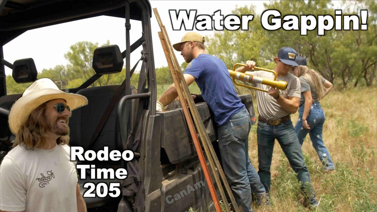 Nic learns a lesson Water Gappin at Wacamole - Rodeo Time 205